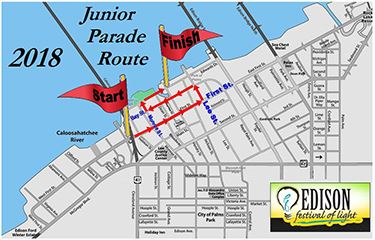 Junior Parade Route