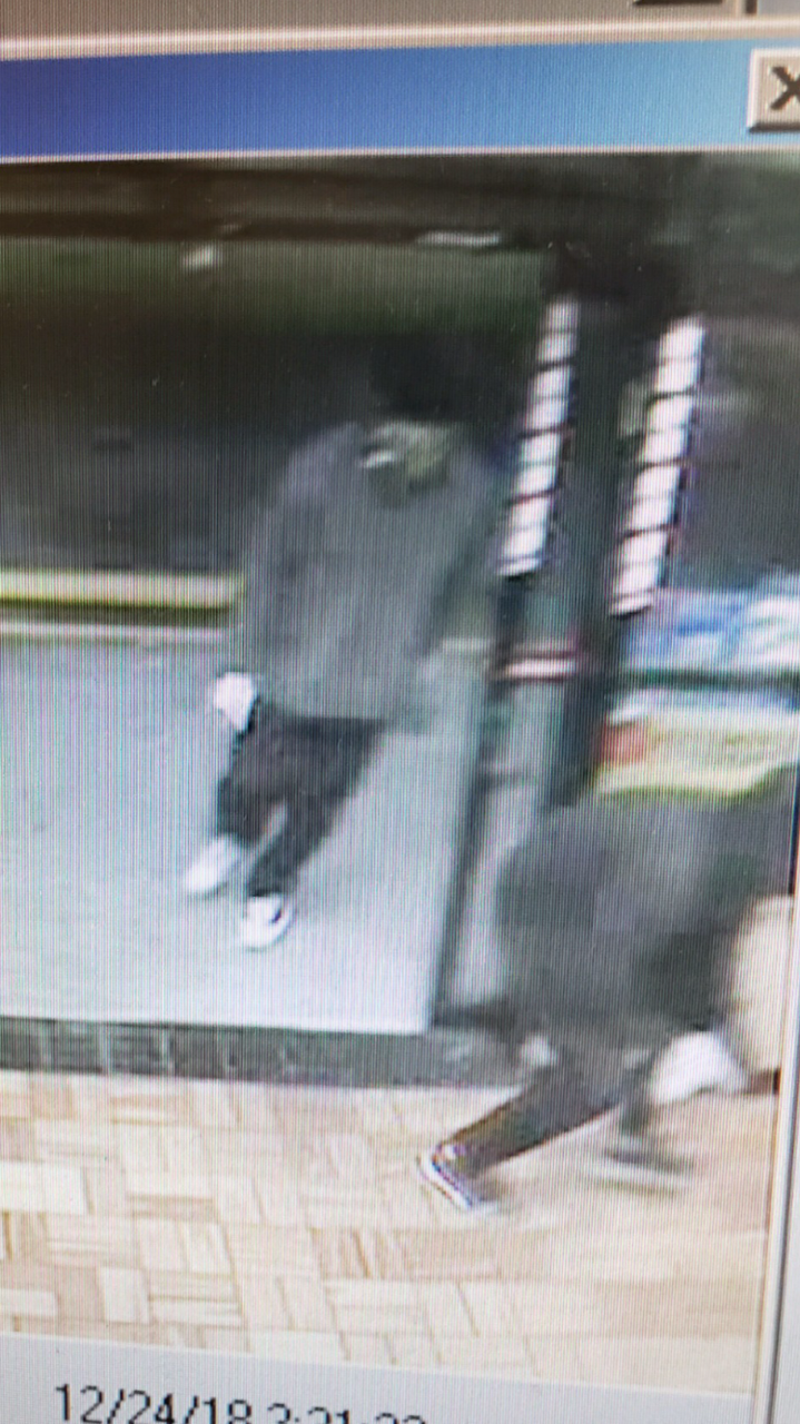 Circle K suspect in gray