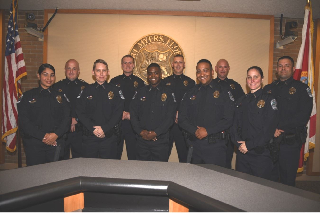 New FMPD Officers 3-1-19