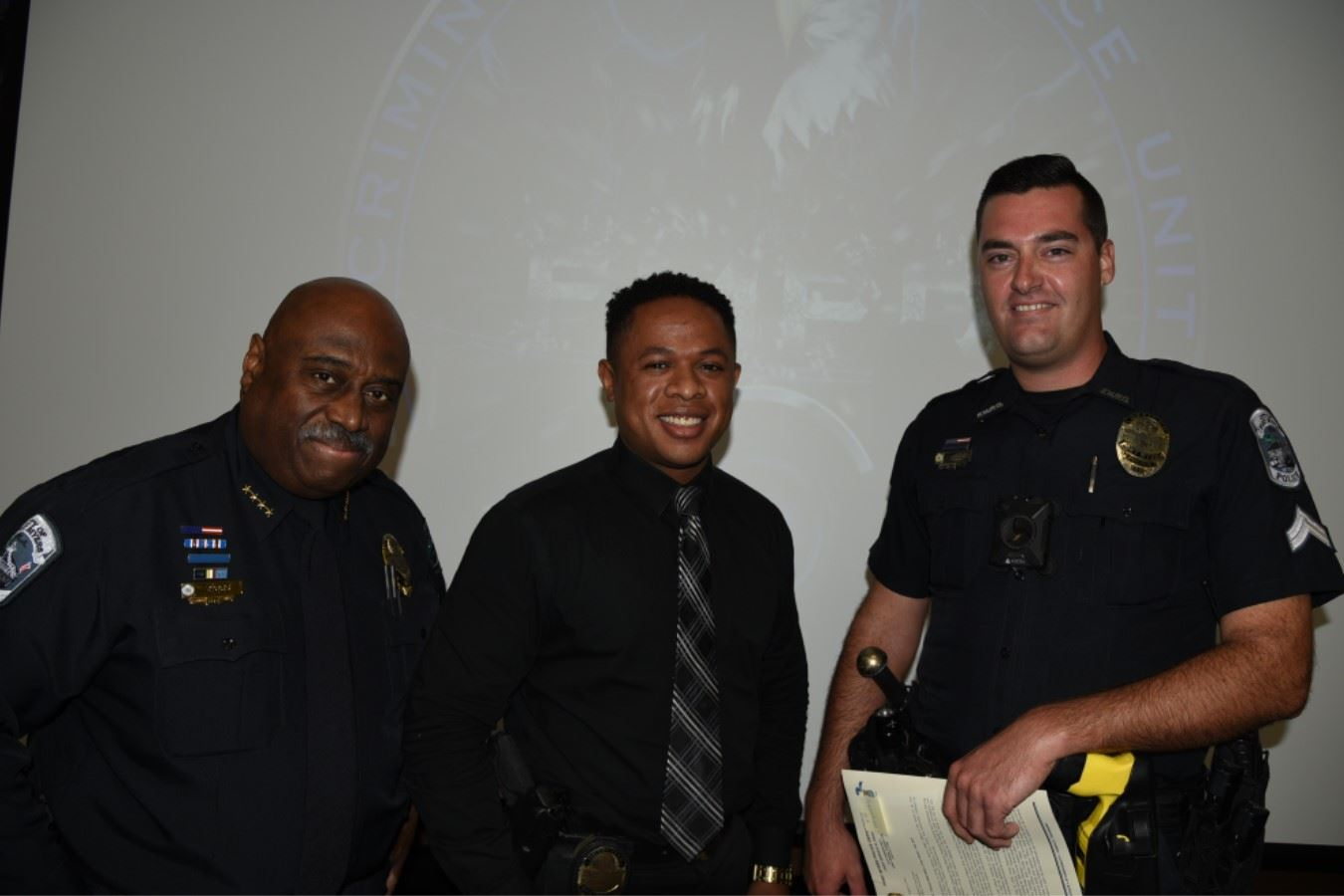 Chief Diggs-Sgt. Gomez-Officer Gaide